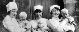 North Uist Nurses in 1926