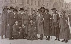 Elsie and colleagues captured in Austria - courtesy The National Archives