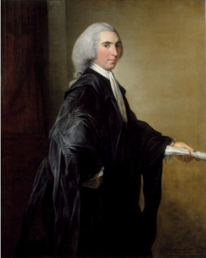 Henry Dundas as young lawyer