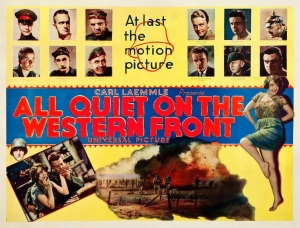 1930 poster for All Quiet on the Western Front