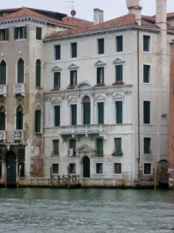 Consul Joseph Smith's palazzo on the Grand Canal