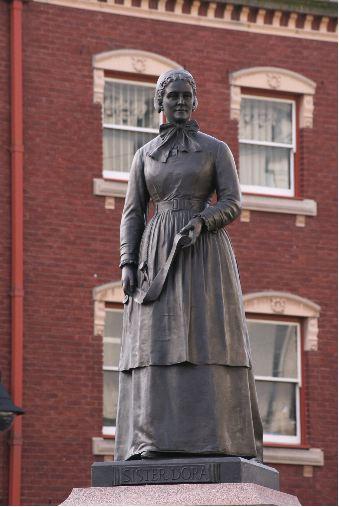 Sister Dora ©Derek Bennett/ © Copyright Derek Bennett http://www.geograph.org.uk/profile/22254